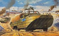 DUKW 1:76 Vintage Classic Military Air Fix Model Kit