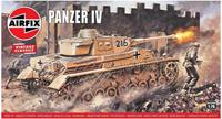 Panzer IV 1:76 Vintage Classic Military Air Fix Model Kit