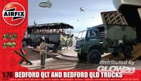 Bedford QLD/QLT Trucks Series 3 Military Air Fix Model Kit