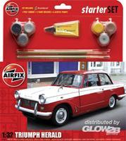 Airfix - 1:32 Triumph Herald Scale Classic Car Gift Set