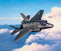 F-35A Lightning II Lockheed Martin Level 4 1:72 Revell Model Kit