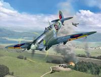 Supermarine Spitfire Mk.IXc - Technik Revell Model Kit with Electronics