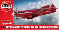 Airfix Supermarine Spitfire MkXIV Civilian Schemes Model Kit
