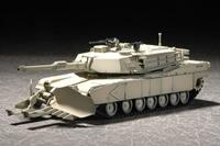 Military M1A1 with Mine Clearing Blade System