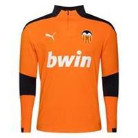 PUMA Valencia Trainingsshirt Kwartrits - Oranje/Asfalt