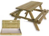 Intergard Kinderpicknicktafel met zandbak