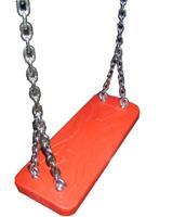 Intergard Rubberen schommel professioneel voor openbare speeltoestellen rood