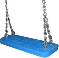 Intergard Rubberen schommel professioneel voor openbare speeltoestellen blauw
