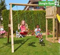 Intergard Houten speeltoestellen Jungle Swing aanbouwset swing module