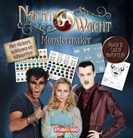 Studio 100 Boek Nachtwacht: Monstermaker 2 (9%) (BODN00000330 )