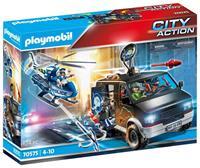 PLAYMOBIL 70575 Politiehelikopter: Achtervolging  Van Het Vluchtvoertuig