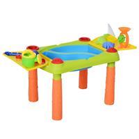 HOMCOM Strandspeelgoedtafel voor kinderen