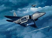 Lockheed Martin F-22A Raptor Revell Model Kit