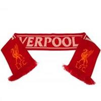 Taylors Football Souvenirs Liverpool Sjaal - Rood/Wit/Geel