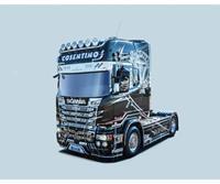 Italeri 3952 SCANIA R730 Streamline Show Truck Vrachtwagen (bouwpakket) 1:24