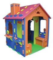 Elite Toys SKUM - Playhouse with Terrace and Chimney (6950577)