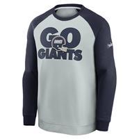 Nike Historic Raglan (NFL Giants) Sweatshirt voor heren - Grijs