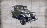 Italeri 3630 Toyota BJ-44 LandCruiser So./Ha.Top Auto (bouwpakket) 1:24
