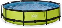 EXIT Lime zwembad - 360 x 76 cm - met filterpomp