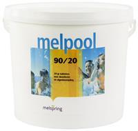 Melpool kleine chloortabletten 20 grams 5 kg