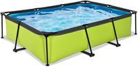 EXIT Lime zwembad - 300 x 200 x 65 cm - met filterpomp