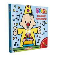 Studio 100 Boek Bumba - Verjaardagsboek met kaars en muziek Bumba