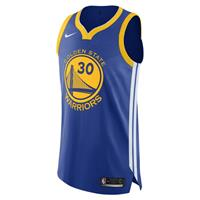 Nike Stephen Curry Warriors Icon Edition Authentic  NBA-jersey - Blauw
