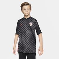 Nike Kroatië 2020 Stadium Uit Voetbalshirt voor kids - Zwart