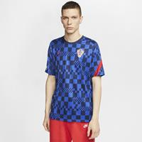 Nike Kroatië Voetbaltop met korte mouwen voor heren - Blauw