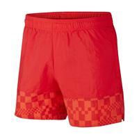 Nike Kroatië Geweven voetbalshorts voor heren - Rood