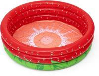 Bestway kinderzwembad Strawberry 160 x 38 cm rood/groen