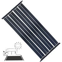 MUCOLA 2 X 605x80CM Schwimmbad Heizung Solarpanel Solarabsorber Poolheizung Solar