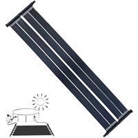 MUCOLA 305x80CM Solarheizung Poolheizung Solarkollektor Solarpanel Wärmeplane für Pool