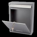 G2thepostboxspecialists Brievenbus Trent - zilvergrijs