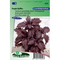 Sluis Garden Basilicum zaden - Purple Ruffles