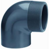 """Express PVC knie 90 graden lijm x buitendraad - 40 mm x 1 1/4"""""""