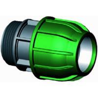 "Express Koppeling met buitendraad - buiskoppeling - 32 mm x 3/4"""