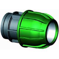 """Express Koppeling met binnendraad - buiskoppeling - 32 mm x 3/4"""""""