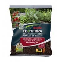 Ecoterra groenten en kruiden potgrond - 2.5 liter
