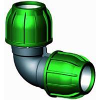 Express Knie 90 graden - buiskoppeling - 32 x 32 mm