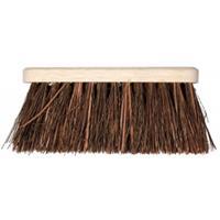 Talen Tools Bezem met natuurvezel haren - 28 cm
