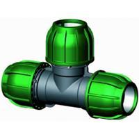 Express T-stuk 90 graden - buiskoppeling - 32 x 32 x 32 mm