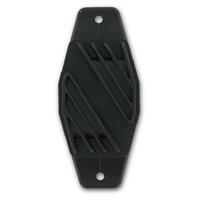 Vsi Schrikdraadlint isolator 40 mm zwart 10 stuks