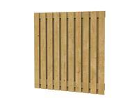 Hillhout Grenen plankenscherm 21-planks 180 x 180 cm