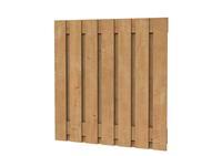 Hillhout Scherm Douglas Fijnbezaagd Brede plank 180 x 180 cm