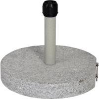 Express Rond 30 kg ø50cm - Parasolvoet - Graniet