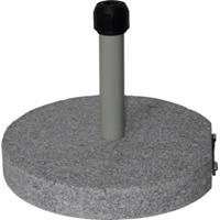 Express Parasolvoet graniet rond grijs 40 kg