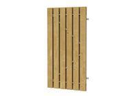 Plankendeur grenen verstelbaar frame 100 x 180 cm
