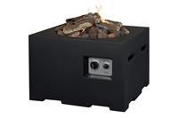 Happy Cocoon tuinhaard vierkant 60x60xH40 cm - zwart