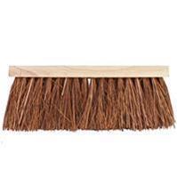 Talen Tools Bezem 41cm breed natuurvezel haren